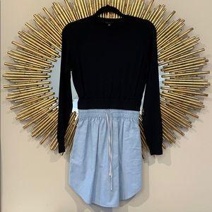 Dance & Marvel Sweater Jean Dress